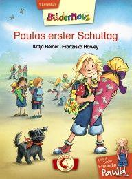eine beste Freundin Paula – Paulas erster Schultag  Endlich ist er da: Paulas erster Schultag! Mit ihrem nagelneuen Ranzen und der allerschönsten Schultüte der Welt macht sich Paula auf zur Schule. Doch da ist alles fremd und ernst.  Zum Glück hat Paula ihren kleinen Hund Frido dabei – und der sorgt für eine lustige Überraschung! Schnell merkt Paula: Schule macht wirklich Spaß!