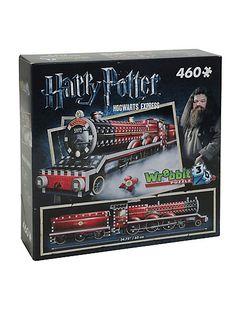 Harry Potter Hogwarts Express Wrebbit 3D PuzzleHarry Potter Hogwarts Express Wrebbit 3D Puzzle,