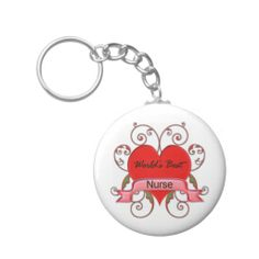 Gifts for nurses - World's Best Nurse Key Chains