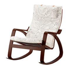 ПОЭНГ Кресло-качалка IKEA Легко содержать в чистоте – съемный чехол можно отдать в химчистку.