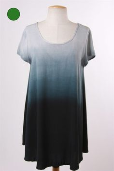 Piper Lubbock  - Lightning Flash, $38.20 (http://www.piperlubbock.com/lightning-flash/), tee shirt dress, sleeves, blue ombre, navy, black, comfy, comfortable, cute, casual, fashion, clothes