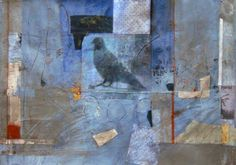 bluebird ~ mixed media ~ by nancy barch
