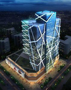 Arranca Construção do Edifício do Centro Nacional de Comércio em Harbin