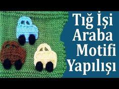Tunus İşi Ayıcık Motifi Yapılışı , Canım Anne - YouTube