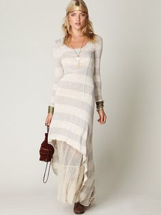another europe idea: long sleeve maxi (w. tulle at bottom!)
