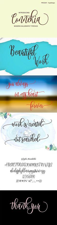 #Connekia - #Fonts