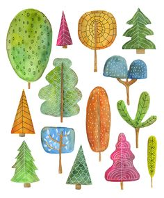 November – Lisa Congdon Art + Illustration