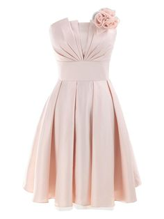 Lovely pink bridesmaid dress!