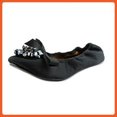 Maloles Nila Women US 5 Black Ballet Flats - Flats for women (*Amazon Partner-Link)