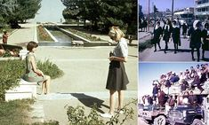 Life before the Taliban: Fascinating photos show short skirts, flash cars and no burkas before Afghanistan plunged into hell