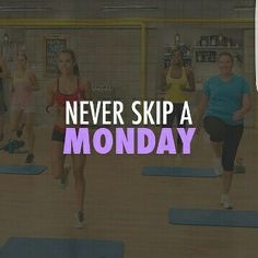 Don't forget to push play today  #neverskipamonday
