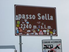 Passo Sella m) - Alpi Occidentali. Mountain Pass, Step By Step, Climbing
