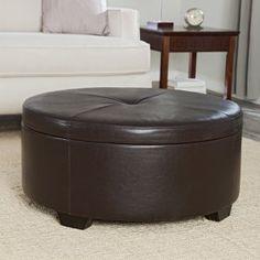 Corbett coffee table/storage ottoman from Ottomans.com, $299.98