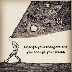 Build deep awareness of how your thoughts drive your feelings and in turn direct your actions.