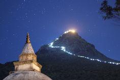 Śrī Pada, Adams Peak—Buddhism's Most Sacred Mountain in Sri Lanka