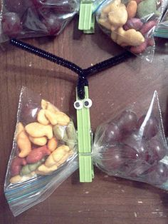 butterfly snack for kids