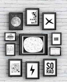 Best wall gallery printables free prints black and white 53 Ideas Kids Bedroom, Bedroom Decor, Wall Decor, Kids Rooms, Trendy Bedroom, Free Prints, Boy Room, Printable Wall Art, Free Printables