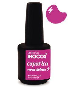 Verniz de Luxo - Inocos Verniz Gel 15ml Caparica (Rosa Elétrico)