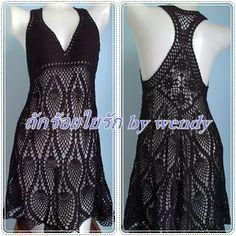 Marcinha crochet: crochet dresses... #inspiration_crochet_diy GB ...