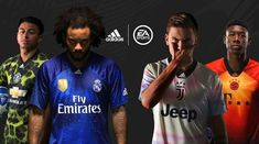 EA SPORTS x adidas Limited Edition Jerseys are available now in FIFA 19 Ultimate Team for FC Bayern, Juventus, Man. Football Team Kits, Soccer Kits, Sport Football, Football Art, Adidas Kit, Adidas Sport, Fifa, Manchester United, Real Madrid Kit