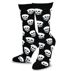 57 best skull clothings images clothing shoes skull print Oakley Two Face On People amazon teehee novelty happy halloween fun crew socks for women 4 pack skulls clothing
