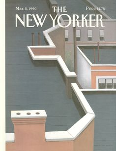 The New Yorker - Monday, March 5, 1990 - Issue # 3394 - Vol. 66 - N° 3 - Cover by : Gretchen Dow Simpson