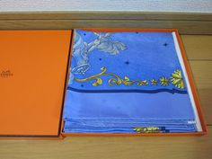 *Cosmos* Hermes Scarf 100% Jacquard Silk Carre (new-tags) #HERMS #Scarf