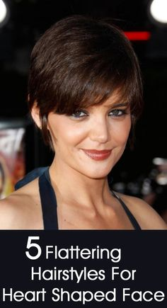 Suitable Hairstyles for Heart Shaped Faces : Simple Hairstyle Ideas For Women and Man