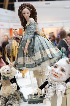 Алиса в стране чудес (Тишинка, часть 1). ХI Международный салон кукол