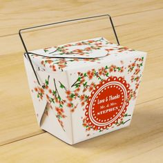 Custom Cherry Blossom Wedding Favor Gift Box Party Favor Boxes