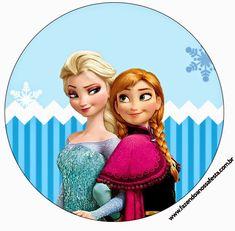 Frozen Navidad Azul: Etiquetas para Candy Bar para Imprimir Gratis. | Ideas y material gratis para fiestas y celebraciones Oh My Fiesta!
