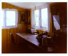 Derek Jarman's kitchen at Dungeness by Kyoji Takahashi Very early - '87 maybe
