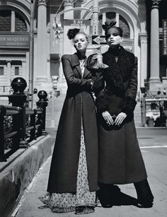 Meet me at the Met Photograph by Alasdair McLellan; styled by Edward Enninful; W magazine August 2011.