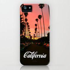 California iPhone Case by Tumblr Fashion | Society6