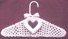 Hanger With Heart Sachet: free pattern