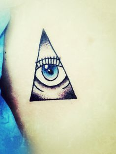 My all seeing eye tattoo.