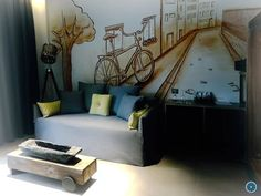Rhodes, Garden Styles, Planting Flowers, Greece, Discount Travel, Toddler Bed, Flooring, Living Room, Luxury