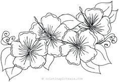 desene cu flori – Căutare Google Printable Flower Coloring Pages, Free Printable Coloring Sheets, Free Coloring Pages, Coloring Books, Lego Coloring, Kids Coloring, Hibiscus Flower Drawing, Hibiscus Flowers, Hawaiian Flowers