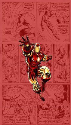 Marvel Comics Wallpaper, Marvel Comics Art, Bd Comics, Ironman Wallpaper Iphone, Wallpaper Samsung, Hd Wallpaper, Wallpapers, Iron Man Marvel, Marvel Heroes