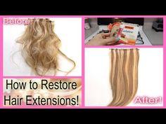 52 Weeks of Beauty - 2015 Week 7 - SERIES: How to Restore Hair Extensions - Part 1 - 52 Weeks of Beauty