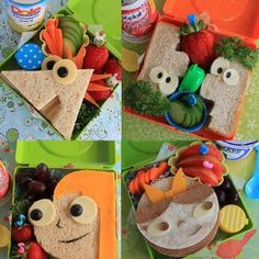 "Thank you ""Cook It Daily- Original homemade recipes"" for this adorable idea for Kids lunch boxes :)"