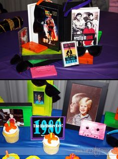 80's theme date night. Back to the Future Or I could do 70s for him! Hehe! Or even the year we met or married! Clever!