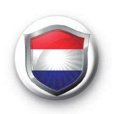 The Netherlands Crest Flag Badge Badge badges button badge pin pins buttons