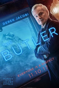Murder on the Orient Express - Derek Jacobi as the butler