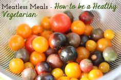 Balance Body & Soul Nutrition // Health Tips Blog // Meatless Meals – How to be a Healthy Vegetarian