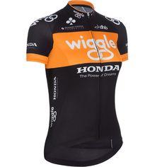 Wiggle | dhb Ladies Team Wiggle Honda Short Sleeve Jersey | Short Sleeve Cycling Jerseys