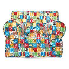 Trend Lab Dr. Seuss Alphabet Seuss Kids Accent Chair