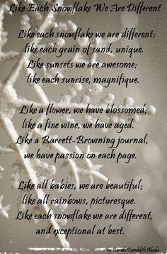 About poems on pinterest inspirational poems snowflakes and poem