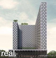 Real by Noble คอนโดมิเนียม มุมมองใหม่บนแจ้งวัฒนะ  High Rise ตึกสูง 34 ชั้น พร้อมพื้นที่ส่วนกลางกว่า 4,000 ตร.ม. โครงการดีๆโดย Noble Development