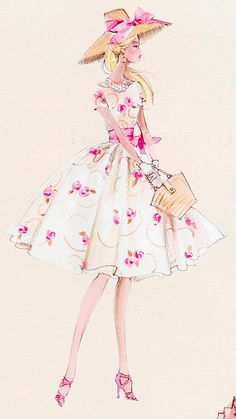 The Pink and Green Prep: Robert Best for Barbie